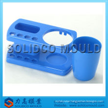 Plastic toothbrush holder cup injection mould manufacturer