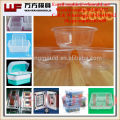 OEM Custom transparent plastic bowl mold/China supply quality products transparent plastic injection bowl mould made in Taizhou