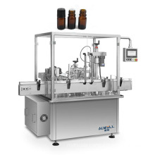 Automatic small vial oil bottle filling capping machinE