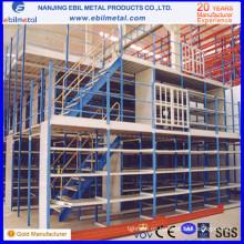 Alta calidad con el estante del mezzanine del almacén del CE / ISO / el estante multi-nivel