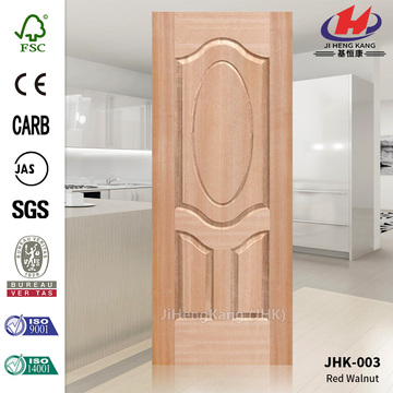 Red Walnut Molded MDF Door Skin