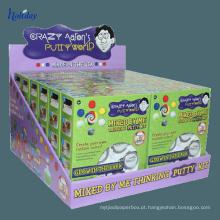 Armazene a exposição varejo do contador de verificação geral dos brinquedos do jogo das crianças do cartão