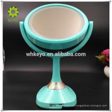 Espejo bluetooth del espejo de la música del altavoz de 2017 LED espejo de aumento de 5X espejo cosmético