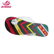 Men's Flip-Flops with Arch Support Soft Summer Sandals Light Weight Beach Slippers