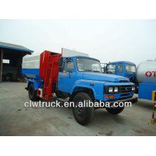 Dongfeng 140 elevador hidráulico camión de basura-10000L