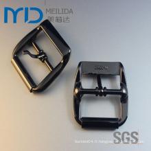 Boucle de ceinture en aluminium à alliage de zinc pour homme