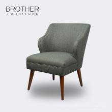 meubles de salon Chaises modernes d'appoint à dossier haut en tissu