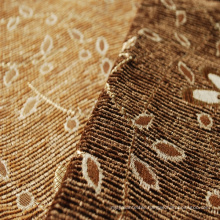 200GSM Brown Chenille Furniture Fabric by China Supply
