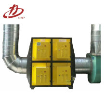 Industrial waste gas plasma extractor