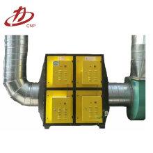 Extrator de plasma para gases residuais industriais