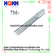 Proffesinal tattoo needle quality premium permanent durable disposable silver tattoo needle supply