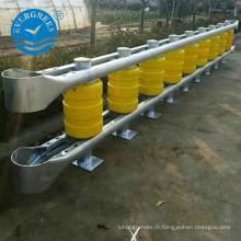 Fabricant d'usine rotatif anticollision route accident de l'eau baril