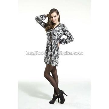 Женская дамы свитер платья/ Antipilling кашемировый свитер