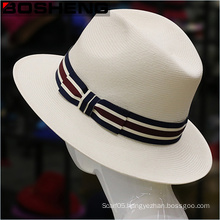 New Summer Panama Straw Style Trilby Fedora Hat