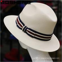 Nouveau chapeau Fedora de Trilby de paille Panama Panama