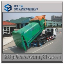 Lifting Garbage Truck 15 Cbm Compressor Refuse Station