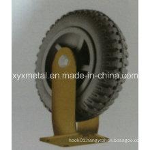 Heavy Duty Caster Wheel Foaming Rubber Caster Wheel, Tire, Gear Caster
