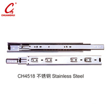 Stainless Steel Hardware Accessories Cabinet Drawer Slider (CH4518)