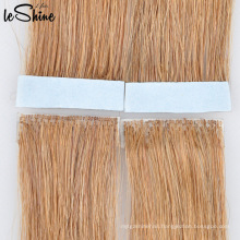 2015 Newest Hand Tied Skin Weft, Pu Skin Tape Human Hair Extension/Hand Tied 100% Indian Remy