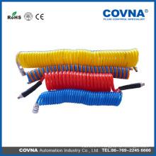Tube ondulé en plastique flexible pour fil électrique