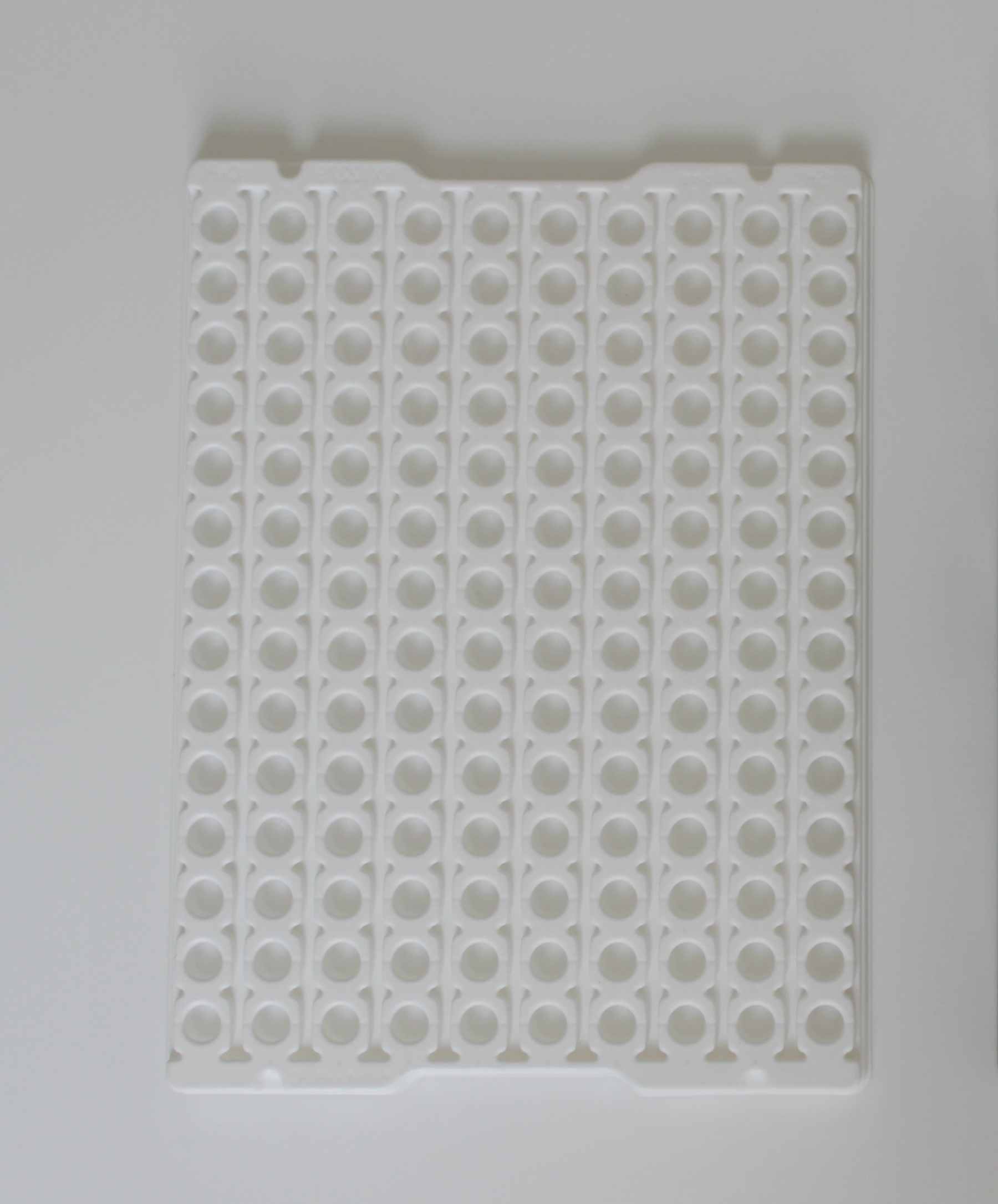 Natural Normal Antistatic Pp 2 Tray
