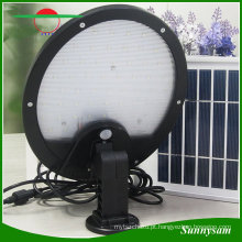 Economia de energia IP65 impermeável 56 LED Solar Power Sensor de movimento Jardim ao ar livre Quintal Lâmpada de luz de segurança do jardim (3 W painel solar embutido + 5 W painel solar extra)