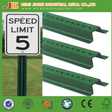 Hot Dipped Galvanized Traffic Safety U-Channel Sign Post