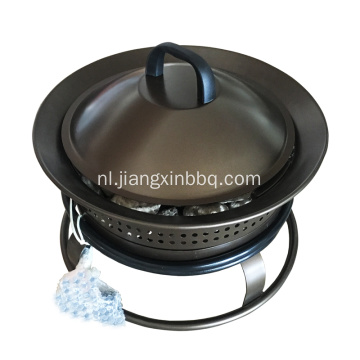 Bronze Portable Steel Liquid Propane Fire Pit