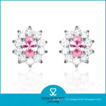 Jóias de luxo Whosale Stone Earring