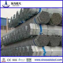 Tubo de acero pre galvanizado Q195