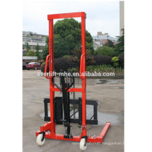0.5t 1 ton 2ton 1.5 ton 1.6m 2m 3m Straddle Hydraulic Hand Lift Manual hand Stacker forklift with Adjustable fork