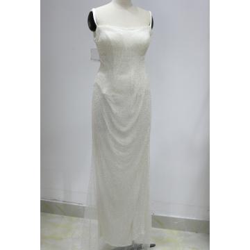 2018 Женское потрясающее длинное платье для женщин Bling