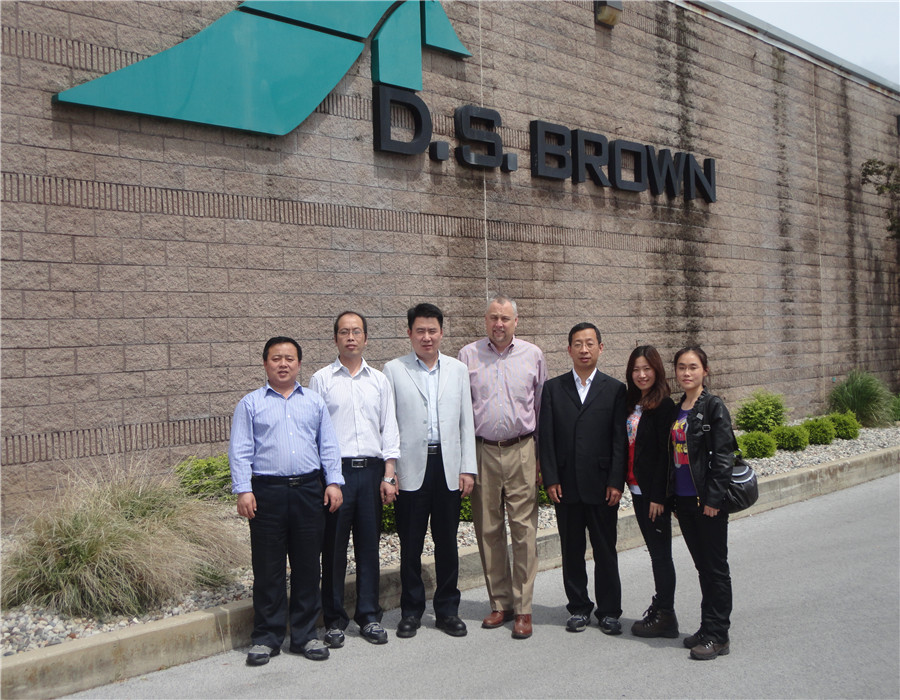 D.S. Brown Expansion Joint