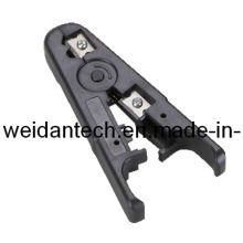 Coaxial Cable Crimping Stripper Cut