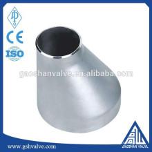 Redutor de tubo excêntrico de aço inoxidável 304