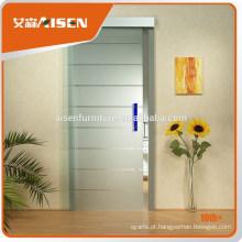 2015 Hot Selling Interior de vidro de alumínio de porta deslizante fabricado na China