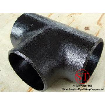 Té en acier de soudage bout à bout en acier au carbone égal