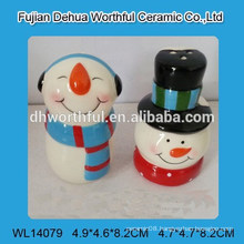 Popular ceramic salt & pepper shaker for christmas
