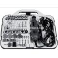163pcs 135W beweglicher Hobby-Schleifer-Zusatz-Satz mit Flex-Wellen-Hand-elektrischer Mini-Drehwerkzeug-Installationssatz