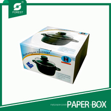 Corrugated Color Paper Packaging Box for Stew Pot