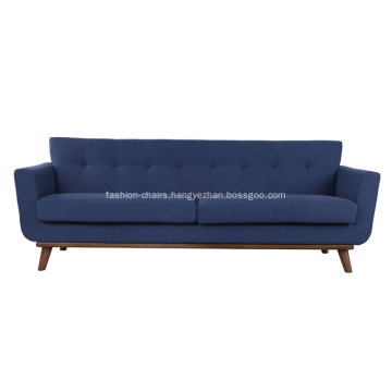 Spiers Living Room Sofa Upholstered With Woolen Fabric