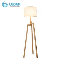 Lampe de table en bois LEDER Night
