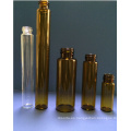 Mini Tubular de ámbar de 2ml vidrio Viasl para el embalaje cosmético