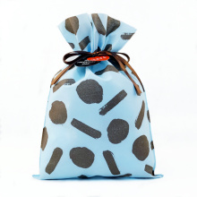Sac cadeau d'emballage bleu Saint Valentin Matériau non tissé