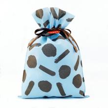 Material não tecido para sacola de presente azul para namorados