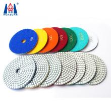 200mm Diamond Polishing Disks And Hexagon Diamond Polishing Pads