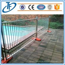 Fabrik Direktverkauf Qualität galvanisierte temporäre Pool Zaun