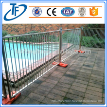 Factory direct sale high quality galvanized temporary pool fence