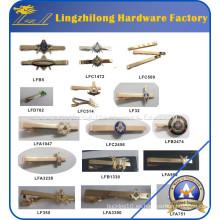 Clip de lazo masónico plateado high-end del oro para los regalos