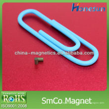 petite taille smco aimant D1x1.2mm